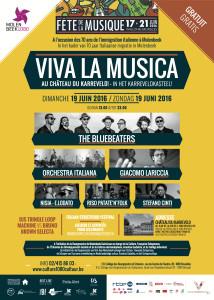 Locandina Viva la Musica